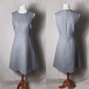 J. CREW A-Line Dress in Double Serge Wool